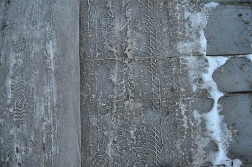 textura scanduri zapada
